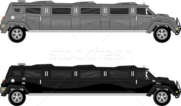 armored limo Stock photo © hayaship