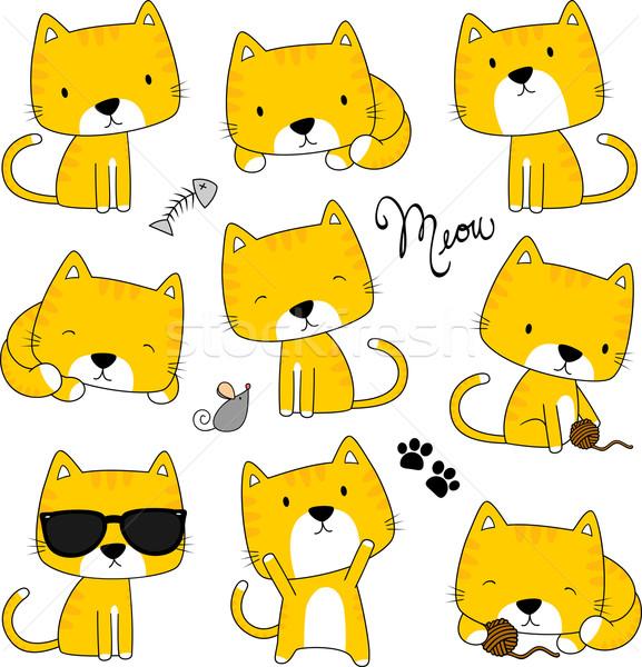 cute kittens Stock photo © hayaship