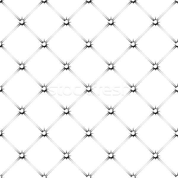 buttoned rhomb pattern Stock photo © hayaship