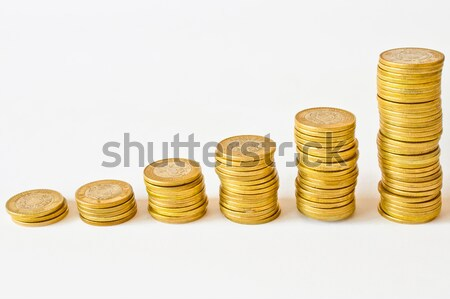 piles coins Stock photo © hayaship