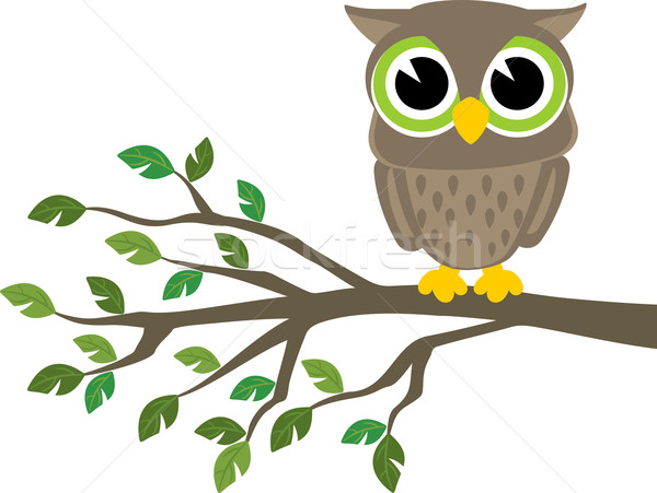 cute owl Stock photo © hayaship