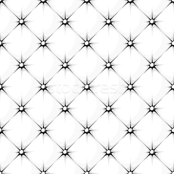 Fehér kárpit végtelen minta háttér klasszikus Stock fotó © hayaship