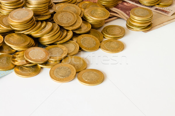 coins background Stock photo © hayaship