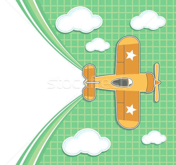 childs decoration airplane Stock photo © hayaship