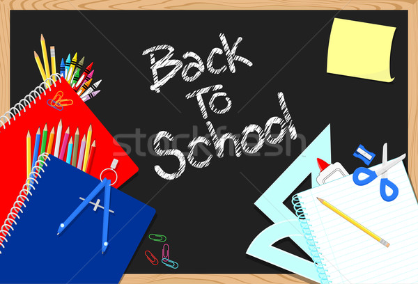 back to school background Stock photo © hayaship
