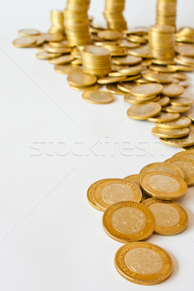 coins backgrounds Stock photo © hayaship
