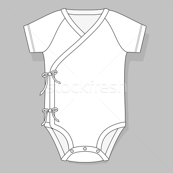 baby bodysuit crossover Stock photo © hayaship