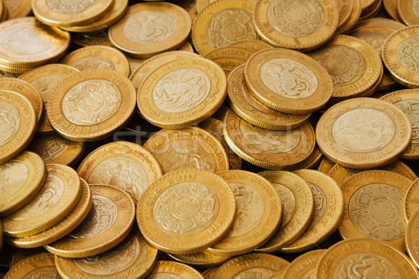 mexican coins background Stock photo © hayaship