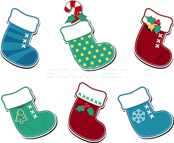 cute christmas socks Stock photo © hayaship