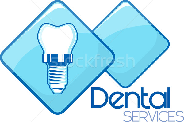 dental implant services design Stock photo © hayaship