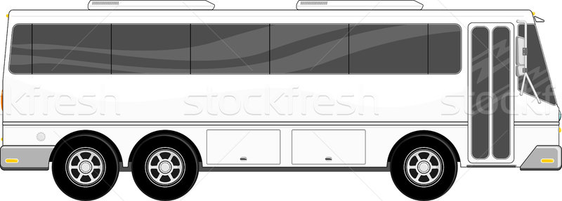 passenger bus vector Stock photo © hayaship