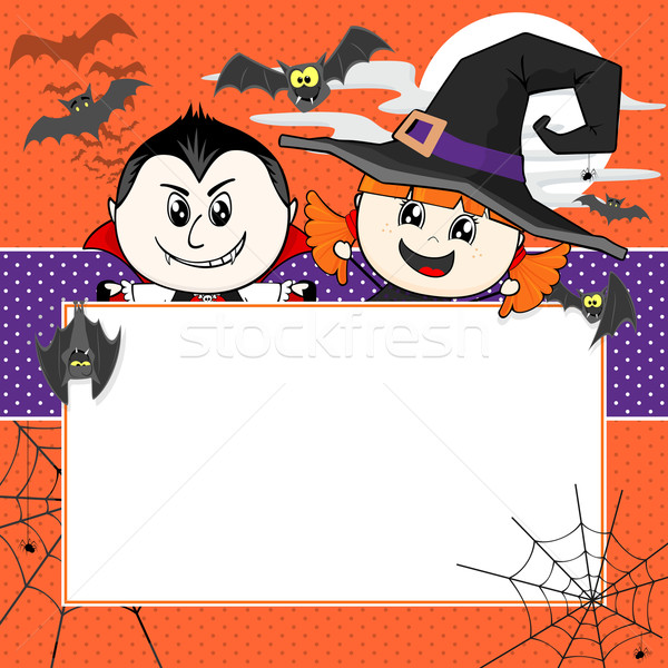 halloween invitation Stock photo © hayaship