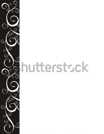 page border Stock photo © hayaship