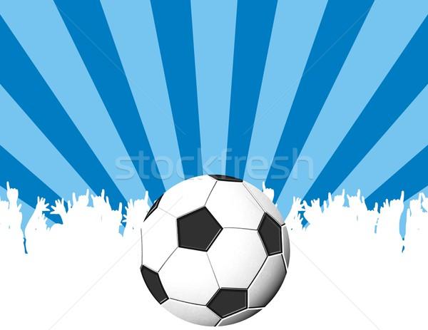 soccermania Stock photo © hayaship