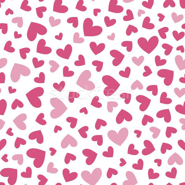 Simple coeur deux couleurs Photo stock © hayaship