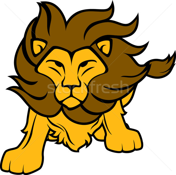 lion cartoon vector illustration sergio hayashi hayaship 2939286 stockfresh