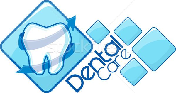 dentist logotype design Stock photo © hayaship