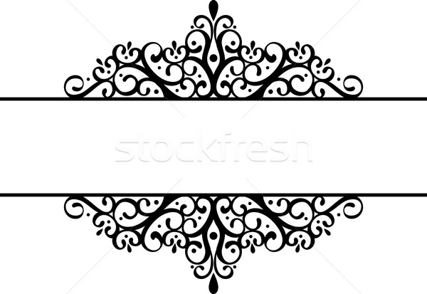 decorative vignette  Stock photo © hayaship