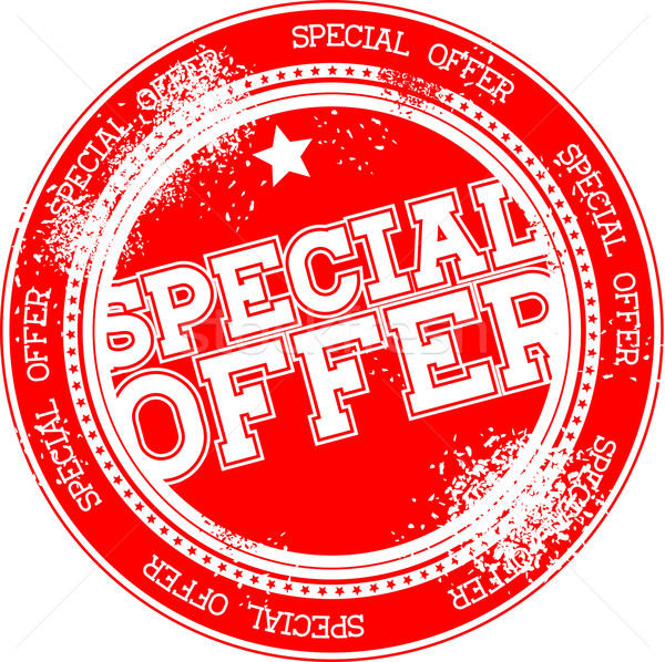 special offer grunge stamp Stock photo © hayaship