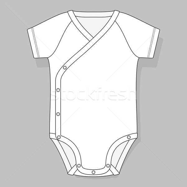 crossover raglan baby bodysuit Stock photo © hayaship