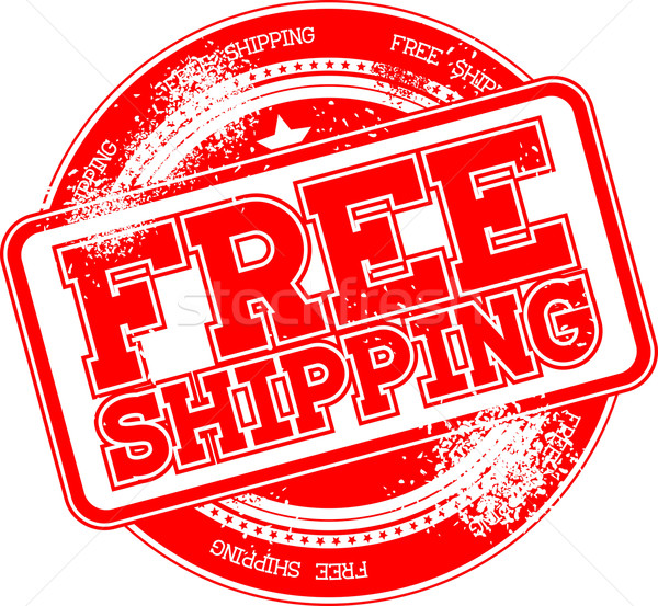 free shipping grunge stamp Stock photo © hayaship