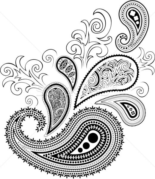 paisley design Stock photo © hayaship