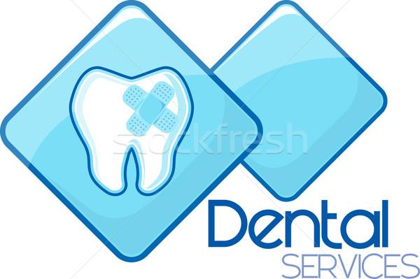 dental curing services design Stock photo © hayaship
