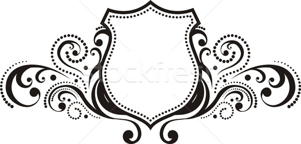 Crête vintage style design logo Photo stock © hayaship