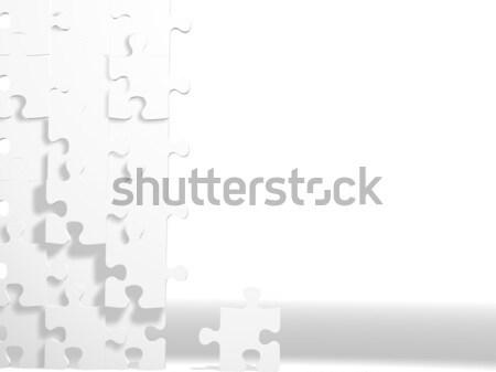 головоломки стены головоломки изображение несколько Сток-фото © hayaship