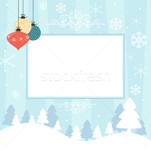 christmas scrapbook background Stock photo © hayaship
