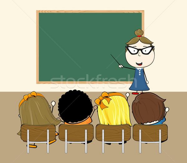 classroom Stock photo © hayaship