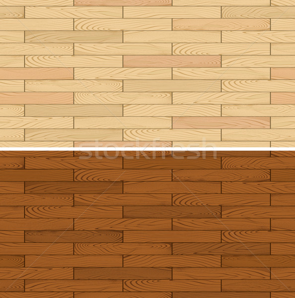 seamless vector wooden floor flooring Stock photo © hayaship