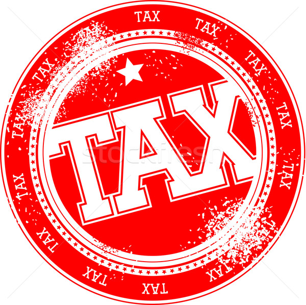 tax grunge stamp Stock photo © hayaship