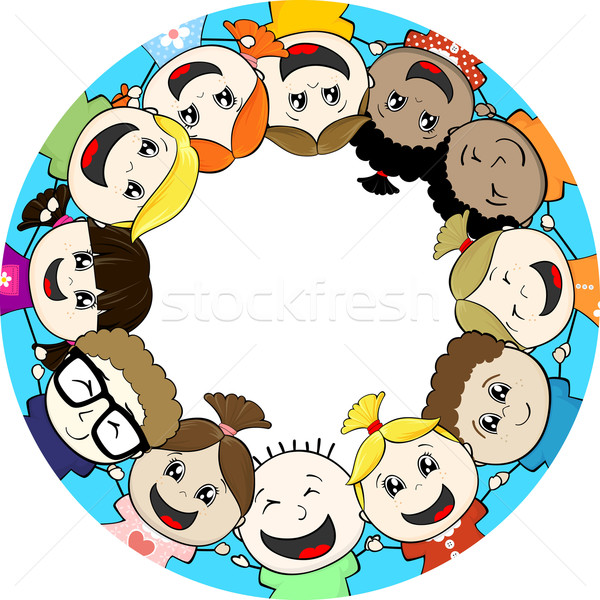 children together Stock photo © hayaship