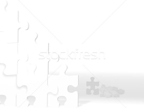 puzzle wall Stock photo © hayaship