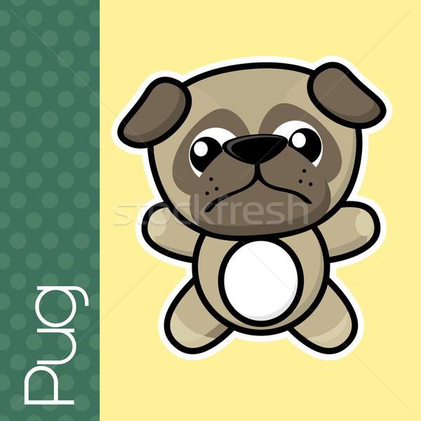 baby pug Stock photo © hayaship