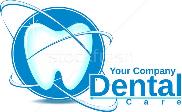 Dentaires logo dentisterie vecteur format Photo stock © hayaship