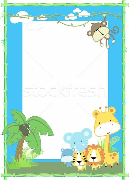 baby animals jungle Stock photo © hayaship
