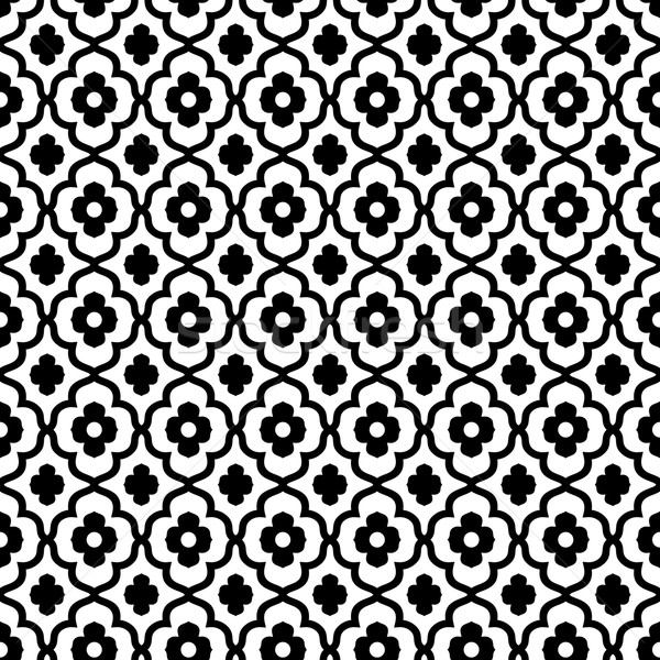 moroccan style seamless pattern Stock photo © hayaship