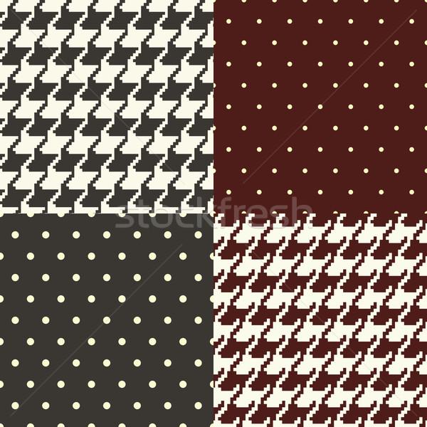pata de gallo and polka dots Stock photo © hayaship