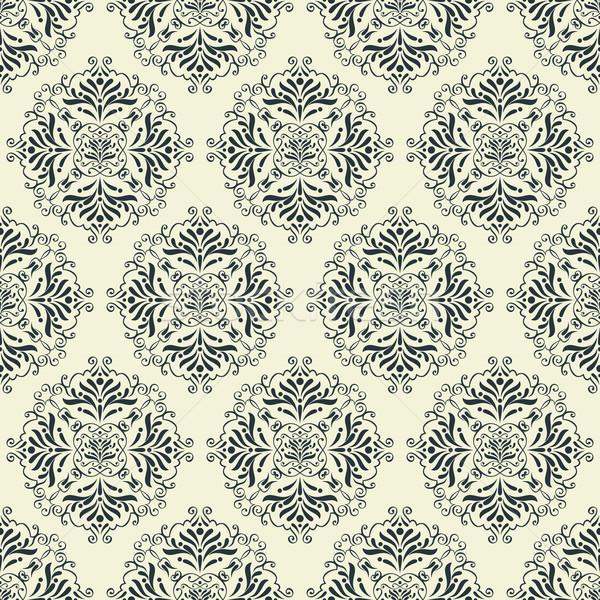 vintage wallpaper pattern Stock photo © hayaship