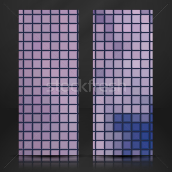 Mosaic Tiles Texture Background Stock photo © HelenStock