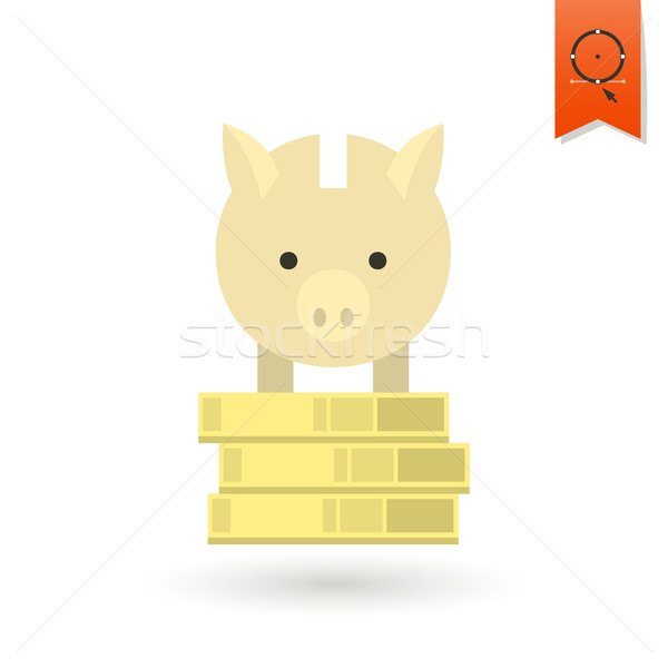 Piggy Moneybox with Coins Stock photo © HelenStock