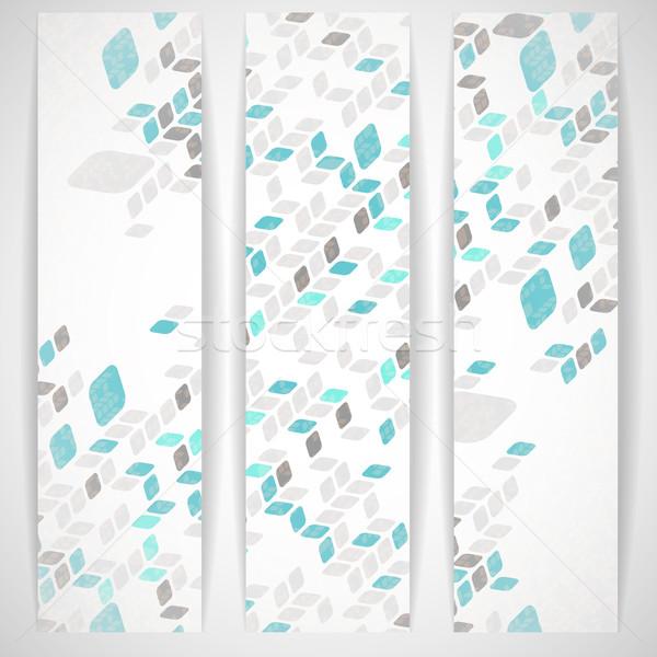 Semplice disegno geometrico eps 10 moda design Foto d'archivio © HelenStock