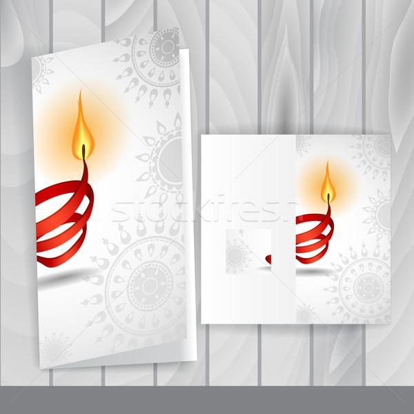 Greeting Card Design, Template Stock photo © HelenStock