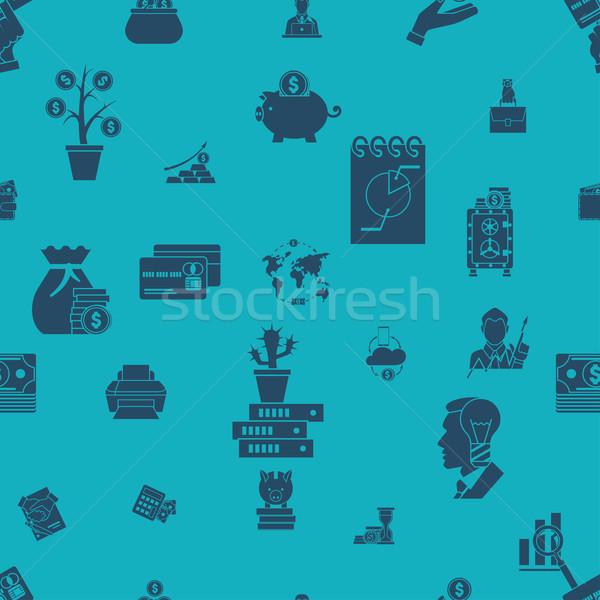 Business Finanzierung einfache Stil Stock foto © HelenStock