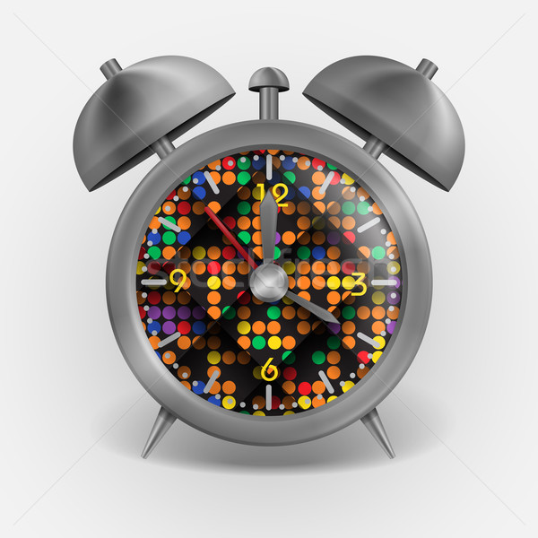 Metal Classic Style Alarm Clock Stock photo © HelenStock