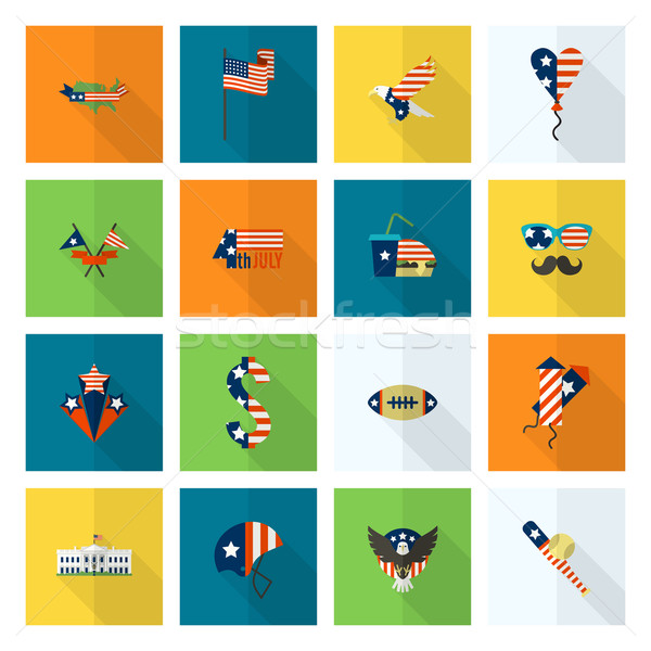 Independence Day of the United States Stock photo © HelenStock