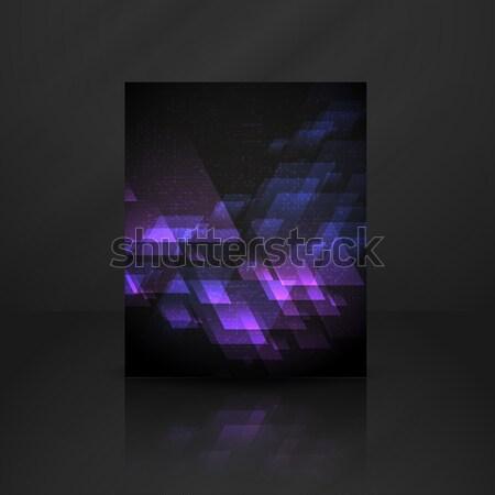 抽象的な 幾何学的な eps 10 デザイン ストックフォト © HelenStock