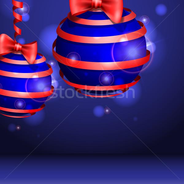 Christmas Balls. Stock photo © HelenStock